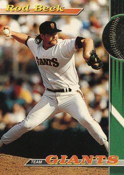 1993 Stadium Club San Francisco Giants #12 Rod Beck  Front