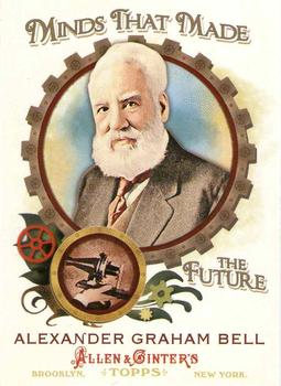 2011 Topps Allen & Ginter - Minds that Made the Future #MMF2 Alexander G. Bell Front