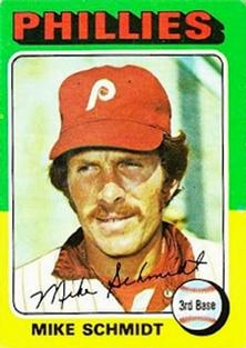 1975 Topps Mini #70 Mike Schmidt Front