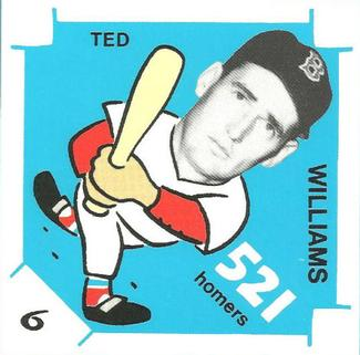 1980 Laughlin 300/400/500 #6 Ted Williams Front