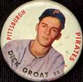 1956 Topps Pins #42 Dick Groat Front