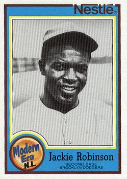 1987 Topps Nestle Dream Team #24 Jackie Robinson Front