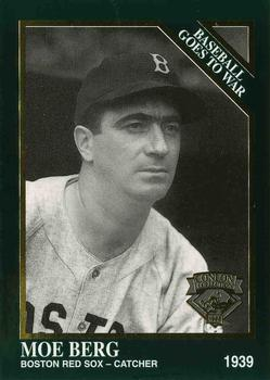 Moe Berg Gallery The Trading Card Database