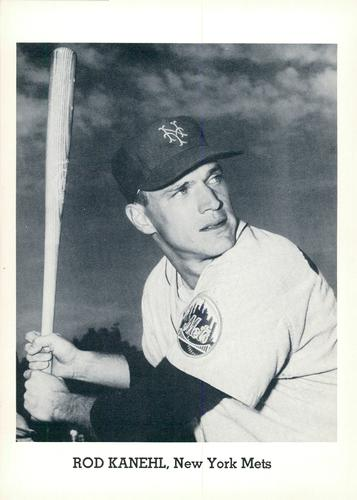 1963 Jay Publishing New York Mets #NNO Rod Kanehl Front