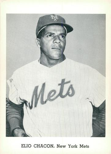 1962 Jay Publishing New York Mets #NNO Elio Chacon Front