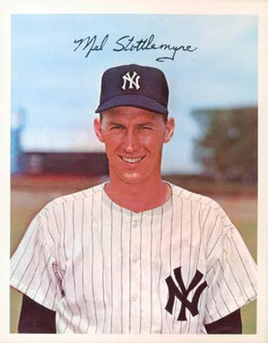 1967 Dexter Press New York Yankees #DT-22289C Mel Stottlemyre Front