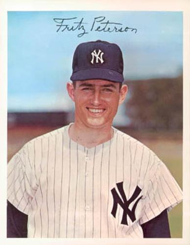 1967 Dexter Press New York Yankees #DT-22294C Fritz Peterson Front