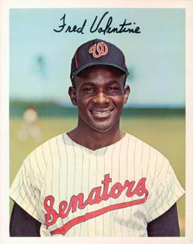 1967 Dexter Press Washington Senators #12 Fred Valentine