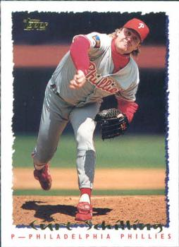 1995 Topps #297 Curt Schilling Front