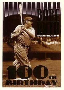 1995 Topps #3 Babe Ruth Front