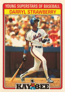 1986 Kay-Bee Young Superstars of Baseball #31 Darryl Strawberry Front