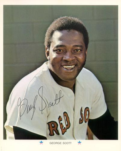 1971 Arco Boston Red Sox #NNO George Scott Front