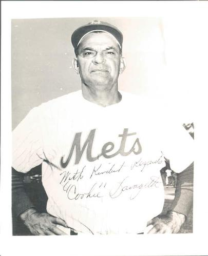1963 New York Mets 4x5 Photos #NNO Cookie Lavagetto Front