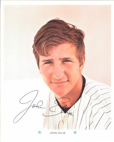 John Ellis Baseball Yankees Nno John Ellis