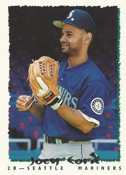 1995 Topps Traded & Rookies #125T Joey Cora Front