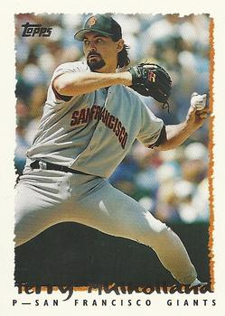 1995 Topps Traded & Rookies #53T Terry Mulholland Front