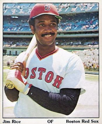 1975 SSPC Puzzle Back #NNO Jim Rice Front
