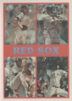 1987 Sportflics Team Preview #9 Marty Barrett / Don Baylor / Wade Boggs / Dennis Boyd / Roger Clemens / Pat Dodson / Dwight Evans / Mike Greenwell / Dave Henderson / Bruce Hurst / Jim Rice / Calvin Schiraldi Front