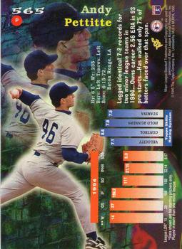 Andy Pettitte Gallery | The Trading Card Database
