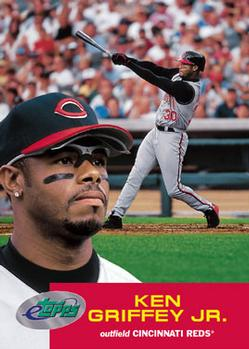 21593b28fe Ken Griffey Jr. Gallery - 2001 | The Trading Card Database