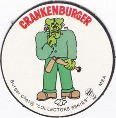 1977 Burger Chef Fun Meal Discs #NNO Bill Freehan Back