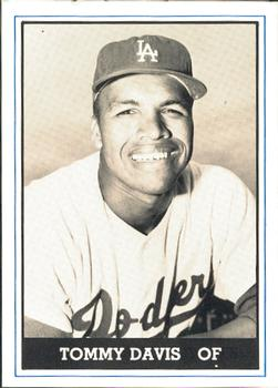 1980 TCMA 1959 Los Angeles Dodgers #12 Tommy Davis Front