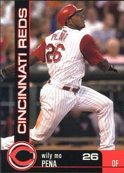 2004 Kahn's Cincinnati Reds #20 Wily Mo Pena Front