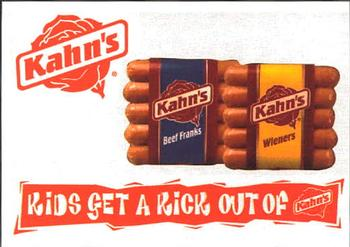 Kahns hot dog coupons