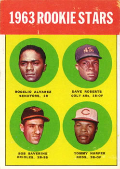 1963 Topps #158 1963 Rookie Stars Front