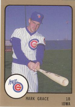 1988 ProCards #539 Mark Grace Front