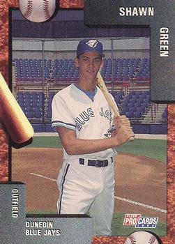 1992 Fleer/ProCards #2011 Shawn Green Front