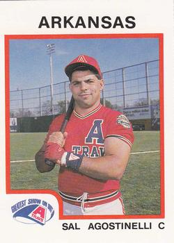 1987 ProCards #584 Sal Agostinelli Front
