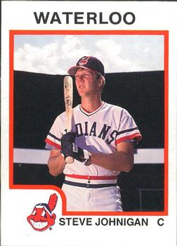 1987 ProCards #1041 Steve Johnigan Front
