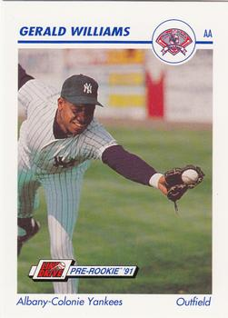 1991 Line Drive AA #23 Gerald Williams Front