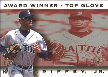 1995 Ultra - Award Winners #6 Ken Griffey Jr. Front