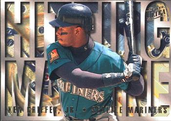 1995 Ultra - Hitting Machines #6 Ken Griffey Jr. Front