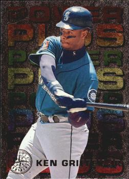 1995 Ultra - Power Plus #2 Ken Griffey Jr. Front