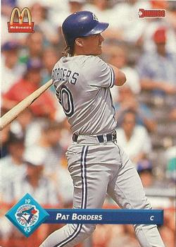 1993 Donruss McDonald's Toronto Blue Jays Great Moments #34 Pat Borders Front
