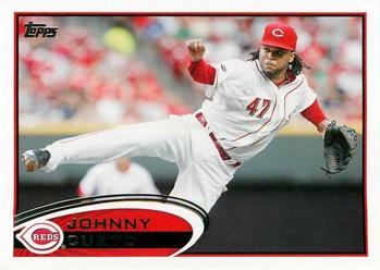 2012 Topps #135 Johnny Cueto Front