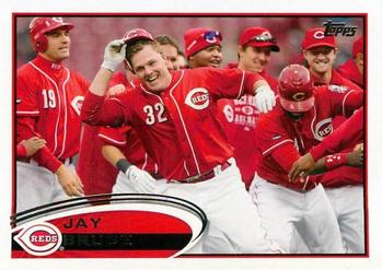 2012 Topps #220 Jay Bruce Front