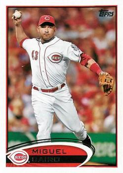 2012 Topps #268 Miguel Cairo Front