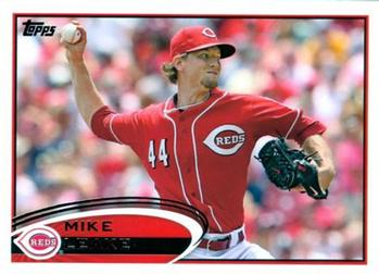 2012 Topps #308 Mike Leake Front