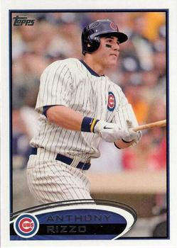 2012 Topps #334 Anthony Rizzo  Front