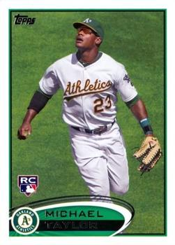 2012 Topps #36 Michael Taylor Front