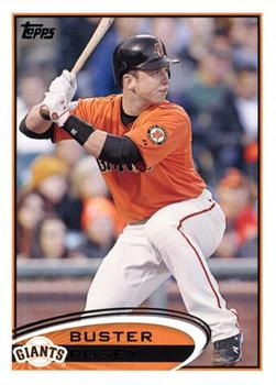 2012 Topps #398 Buster Posey  Front