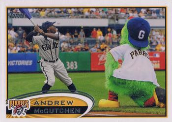 2012 Topps #497b Andrew McCutchen Front