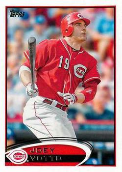 2012 Topps #498 Joey Votto  Front