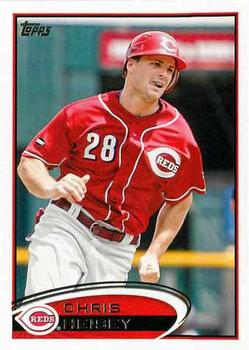 2012 Topps #636 Chris Heisey  Front