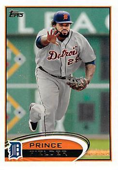 2012 Topps #650 Prince Fielder  Front