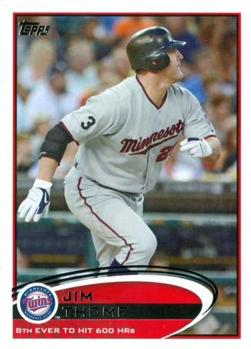 2012 Topps #97 Jim Thome Front